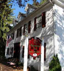 Visit the 1777 Americana Inn Bed and Breakfast